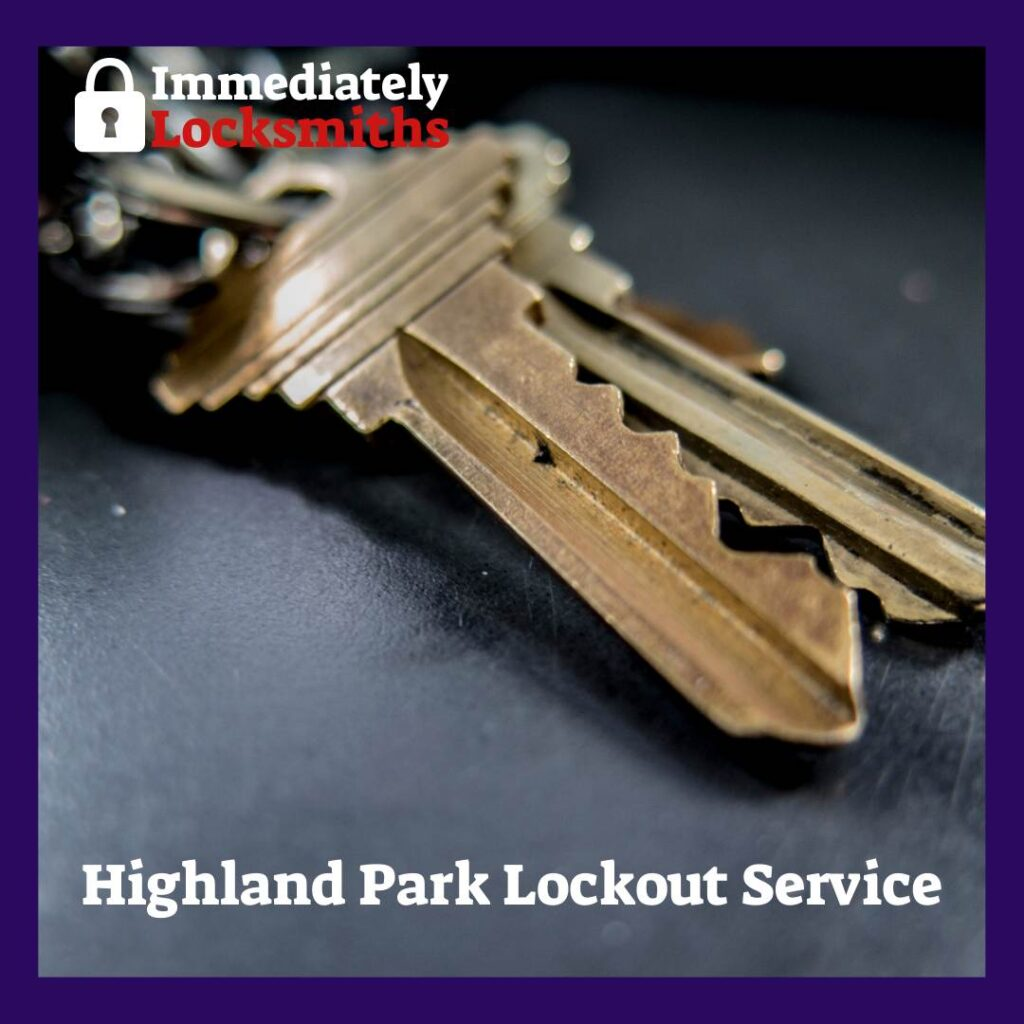 We are a Highland Park-based locksmith company with technicians all over the region.