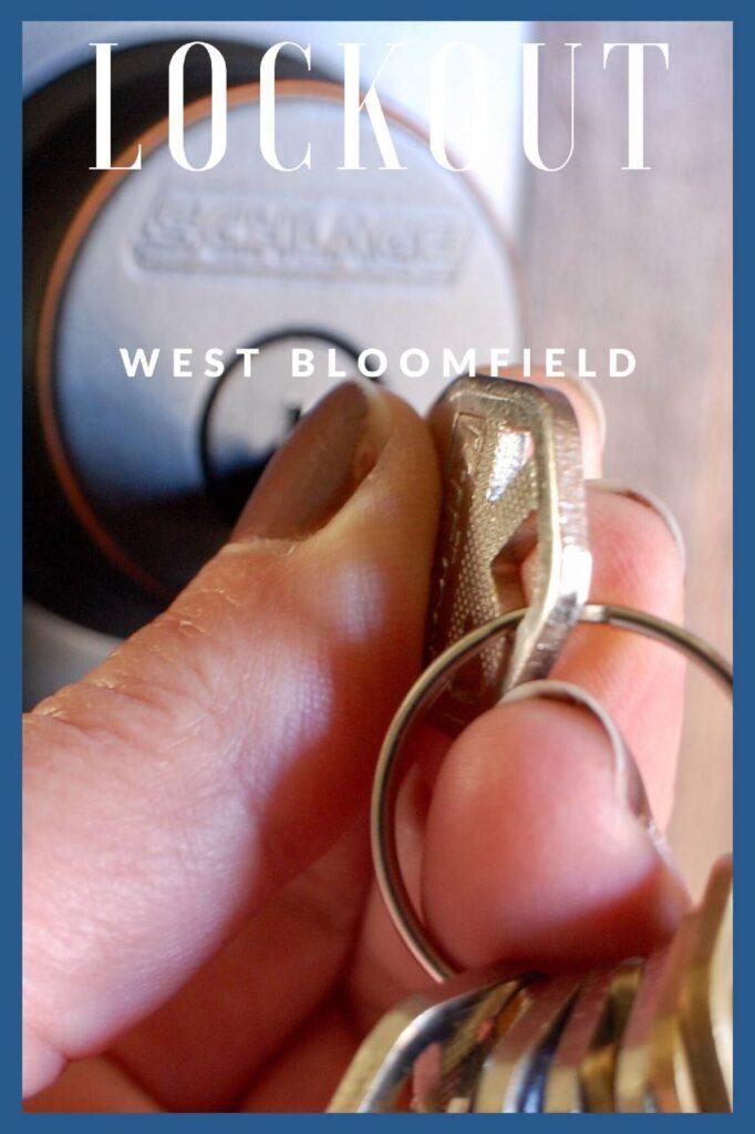 Lockout services West Bloomfield mi