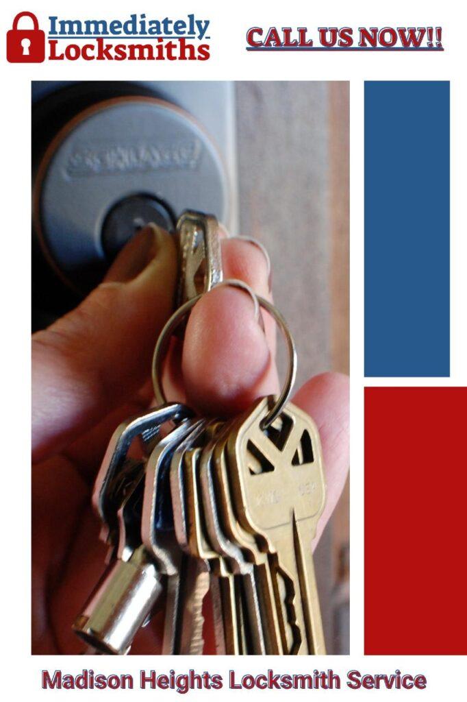 Lockout Service Madison Height Mi